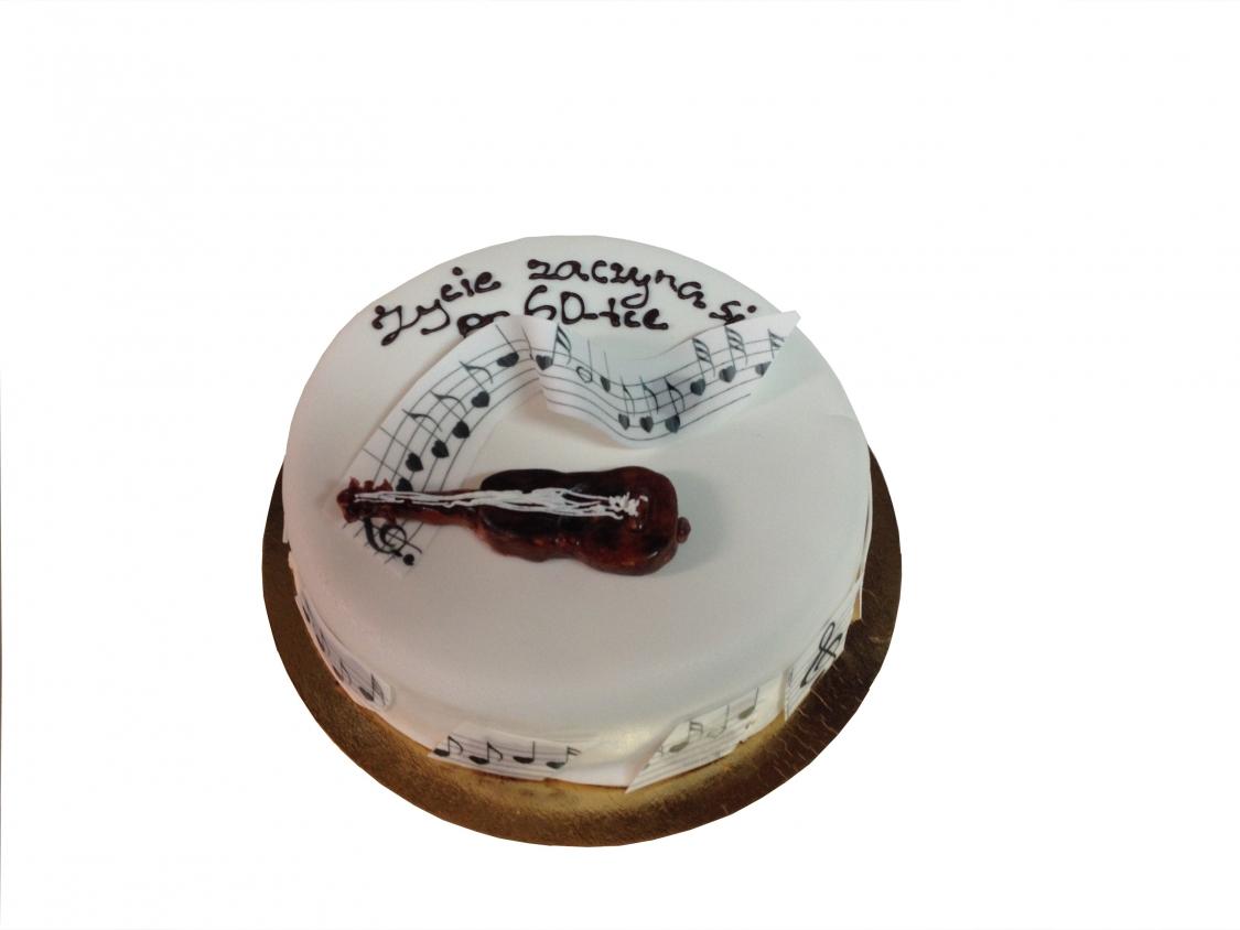 Tort Z Gitarą Torty Okolicznościowe Torty Oferta